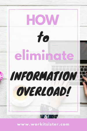 How to eliminate information overload