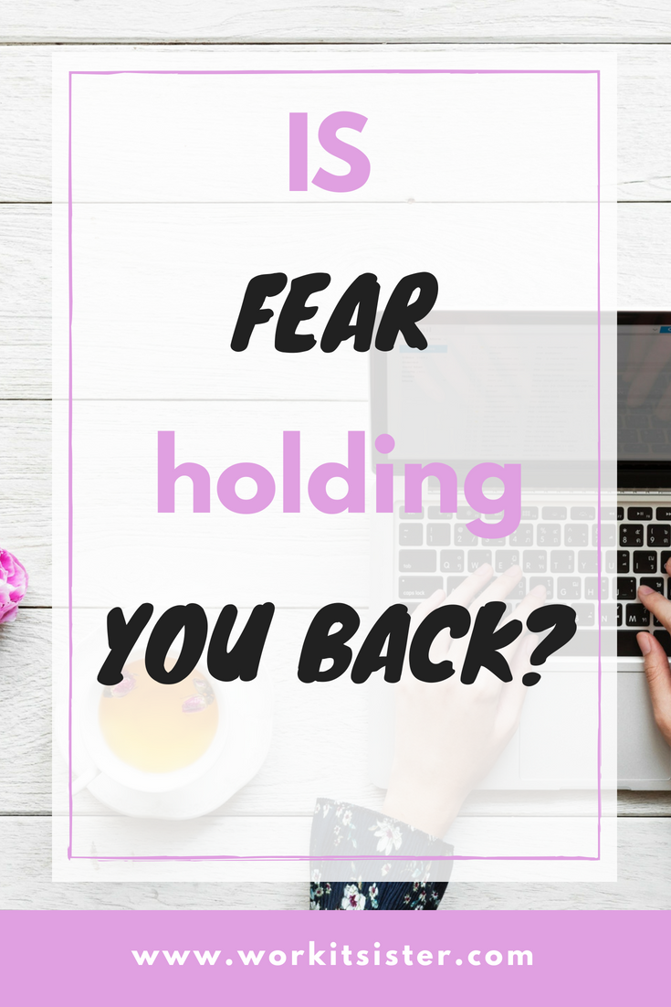 Fear is usually the #1 thing that holds us back from reaching the dream life and dream goals we want! What would you do if you weren\'t afraid! #fear #feelthefear