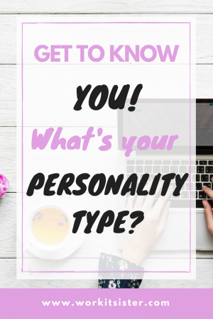 Get to know you! What's your personality type