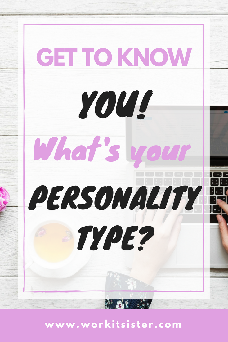 Get to Know You! – What's Your Personality Type?