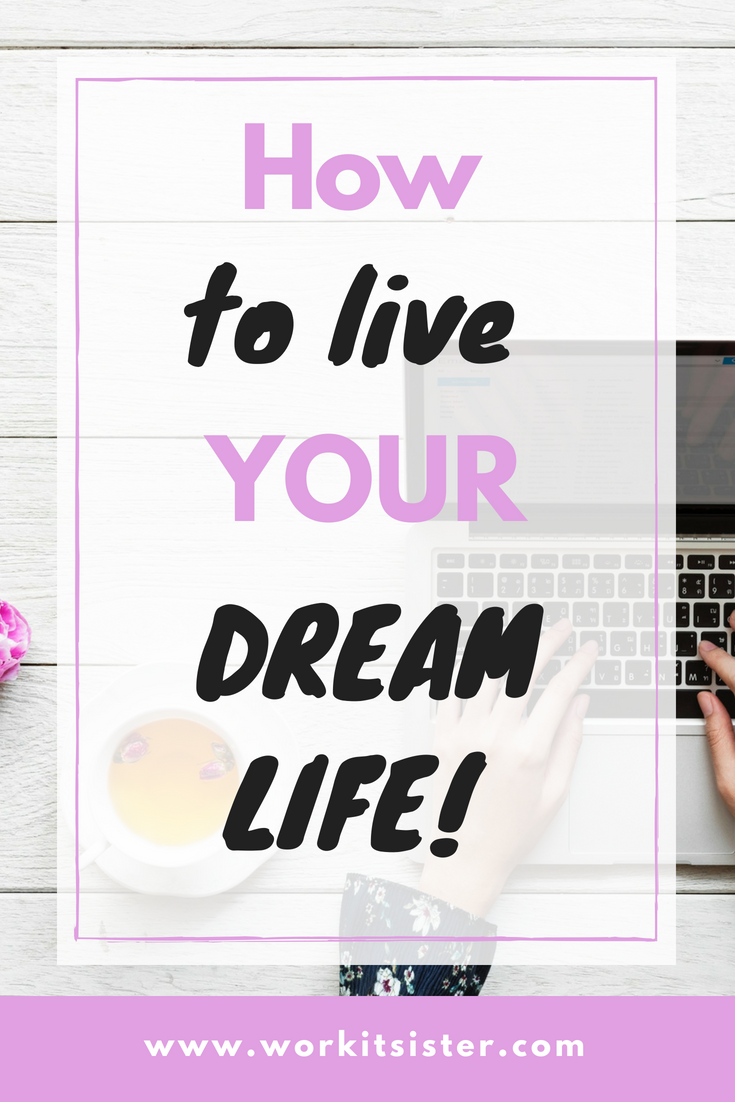 Need some inspiration and help to begin living your dream life? Look no further and get your self love mantra. #dreamlife | Dream life goals, self love, self love affirmation