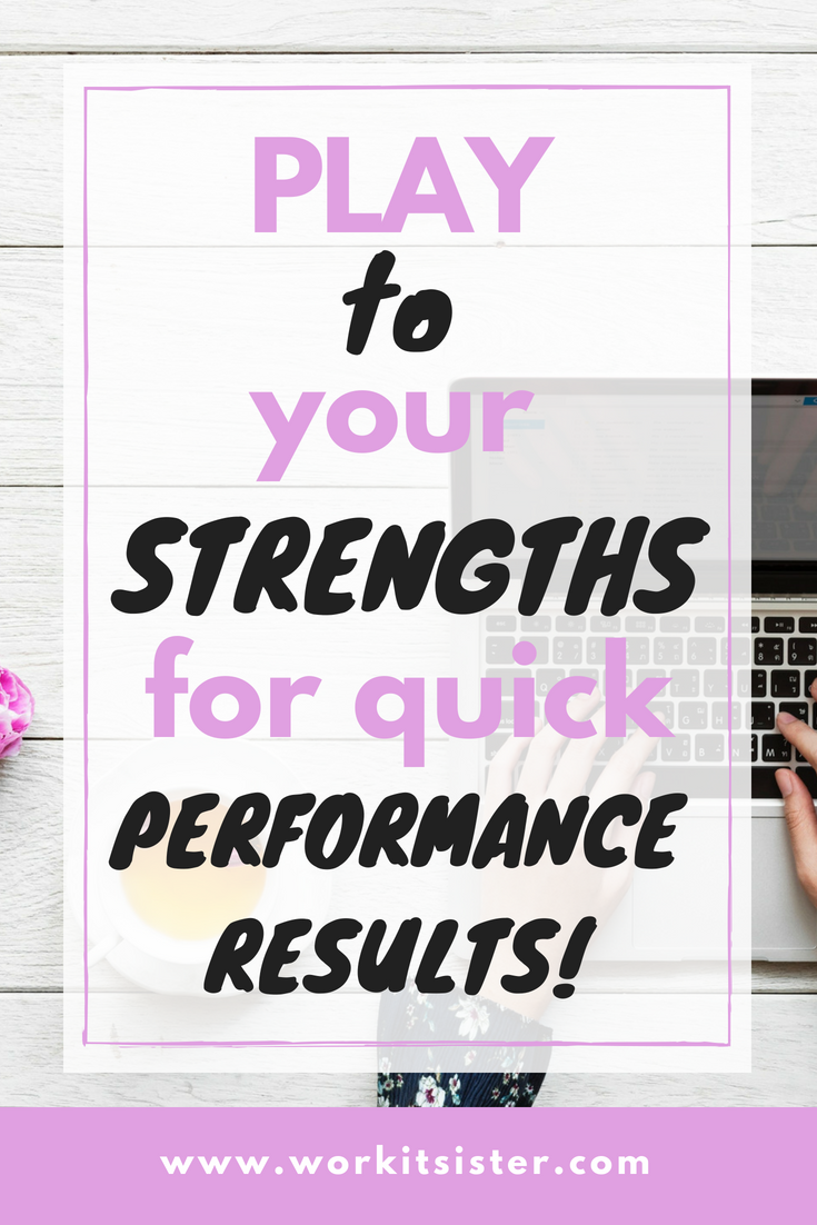 Want to know what are your strengths? Find out here! Learn how to use your strengths. How to play to your strengths #strengths | what are my strengths | performance strengths #strengthfinder