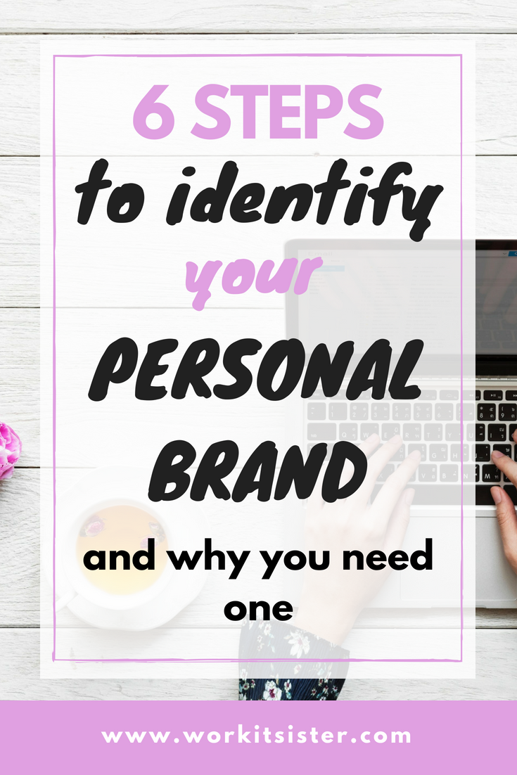 6 Steps to Identify Your Personal Brand and Why You Need One