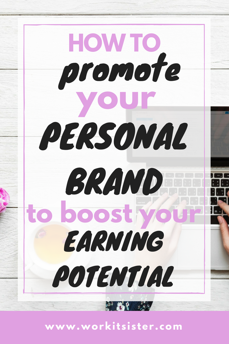 Promoting your personal brand just got easier, check out this post and boost your revenue and earn more. Get a salary increase. #brand #moremoney
