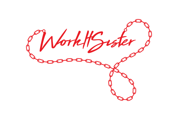 Work It Sister Red Necklace
