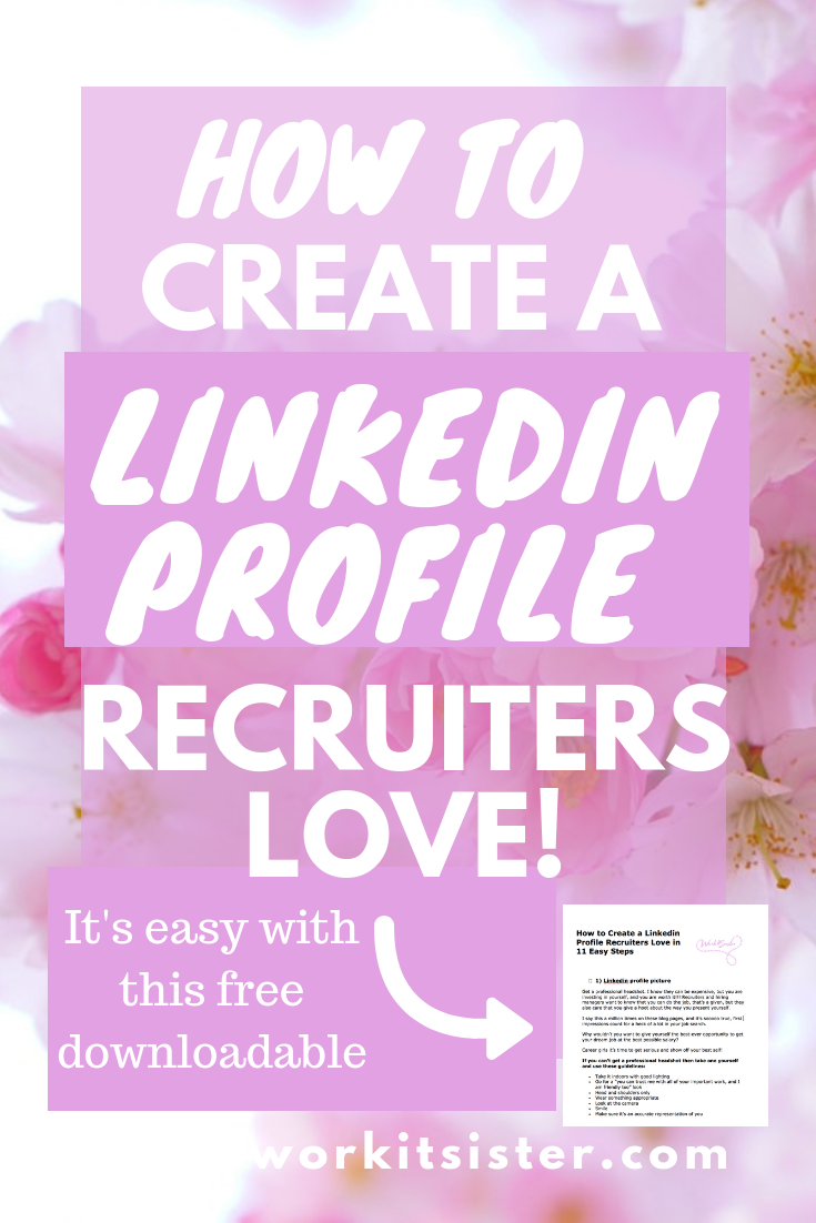 Create the perfect and most amazing Linkedin profile with these top tips, including how to do a LinkedIn profile header, summary, Linkedin banner, Linkedin profile photo etc to wow recruiters and get interviews and your dream job! Click here to find out how... #linkedinprofileadvice #dreamjob