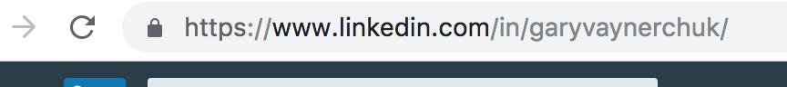 Linkedin custom URL