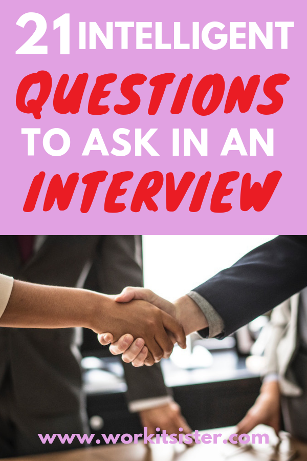 Be smart and ask intelligent questions at the end of your interview to get your dream job! #jobsearch #interviewtips #interviewquestions #careeradvice