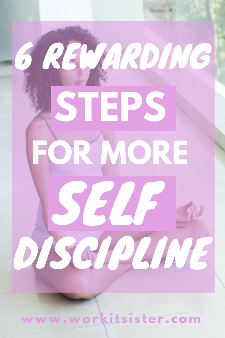 Do you want to have more self discipline? Learn how to skyrocket your self discipline with these six, easy and rewarding productivity tips! Discover how self-discipline in the workplace will help with your job, while it can also help improve your mental, physical and emotional health! #selfdiscipline #motivation #selfdisciplinetips