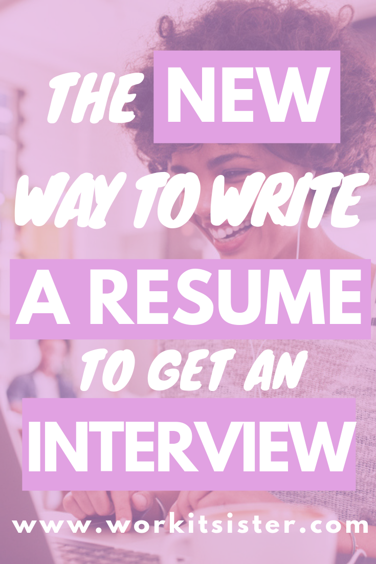Here's the new way to write your resume to beat the ATS and get an interview!!! Get yourself noticed by recruiters and hiring managers, invited to the job interview and get hired!!! #resume #CV #howtowritearesume