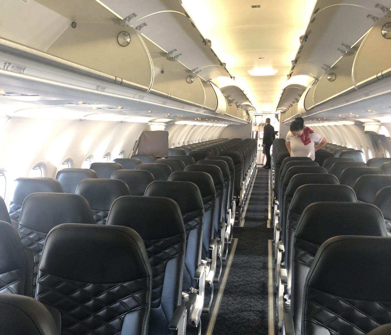 Empty Plane Woohoo!